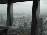 東京タワーからお台場を望む